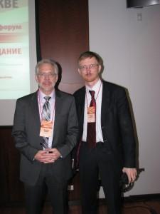 Джеффри Лайкер и Валерий Казарин