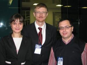 Анастасия Григорович, Валерий Казарин, Сергей Очеретяний