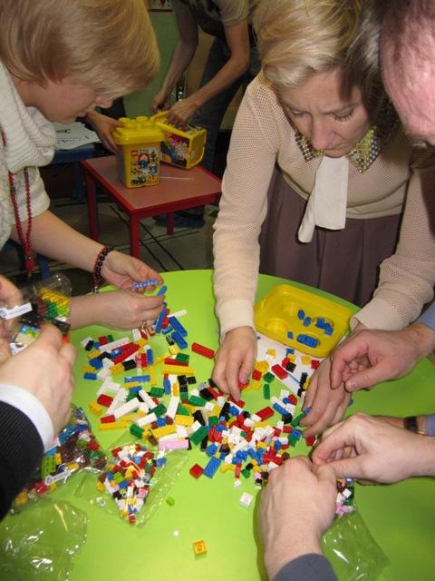 Бережливое производство с LEGO. Как это было