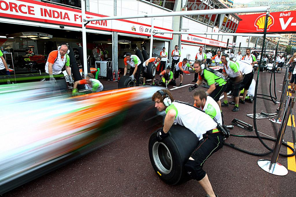 Быстрая переналадка в разных условиях: смена колес в Formula 1, Indycar, Formula E, Nascar, и машин LMP1, LMP2, GTE PRO в гонках на выносливость