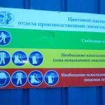 Цветовая маркировка зон и безопасность труда