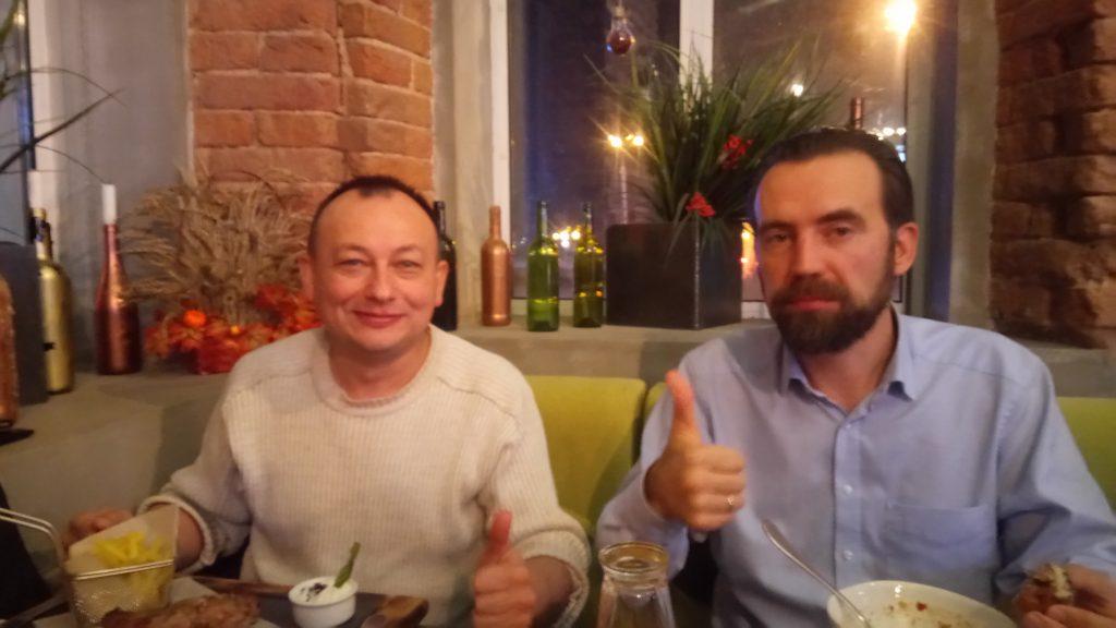 Радик Галимуллин и Михаил Моисеенко