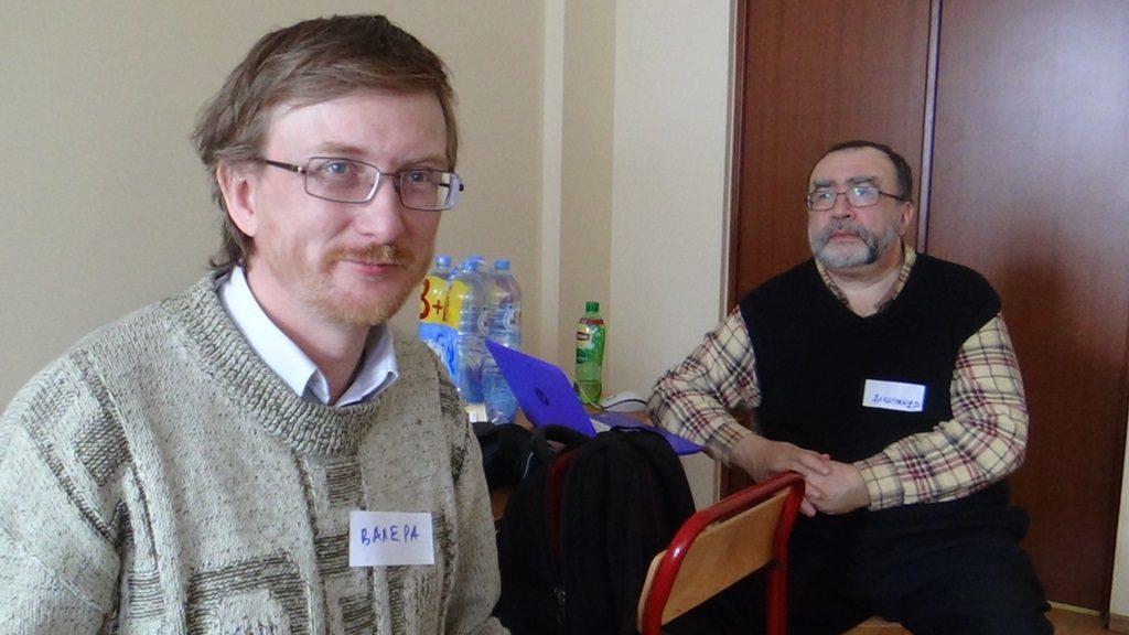 Валерий Казарин и Александр Бородулин