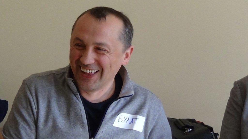 Булат Валиуллин, ради участия во встрече прилетел из Казани