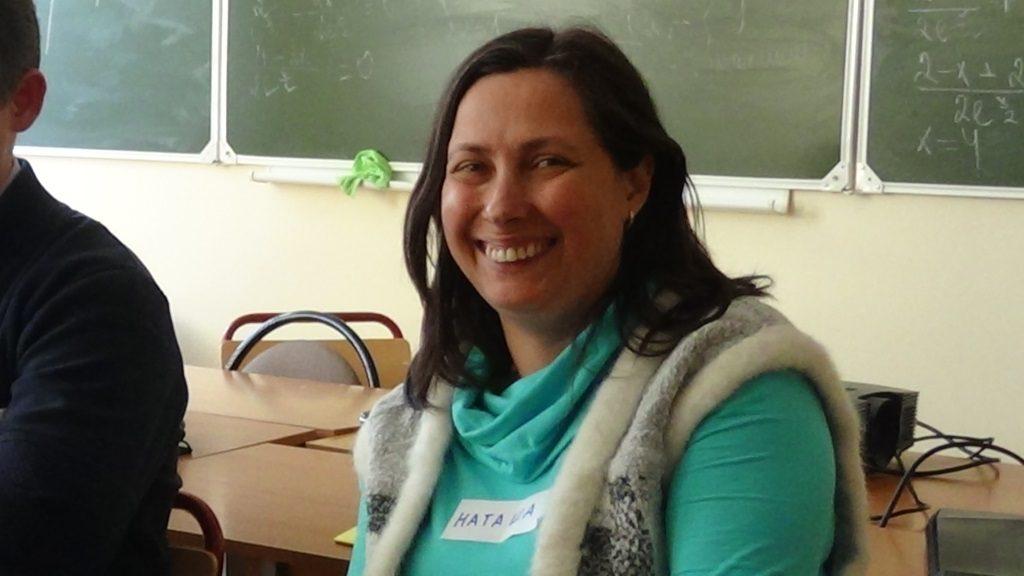 Наталья Казарина - о том, почему ей было интересно поучаствовать в организации клуба линтузиастов