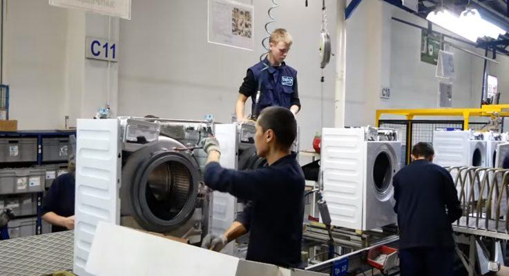 Виртуальный тур — производство стиральных машин BEKO