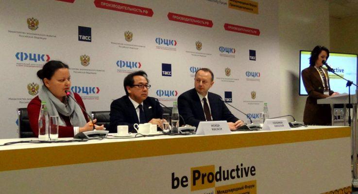 Пресс-конференция Николая Соломона и Масаси Исиды