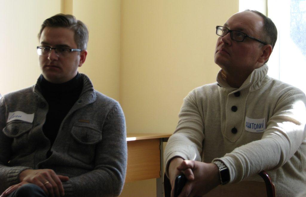 Антон Клепиков и Анатолий Юдин попали на встречу по совершенно разным соображениям